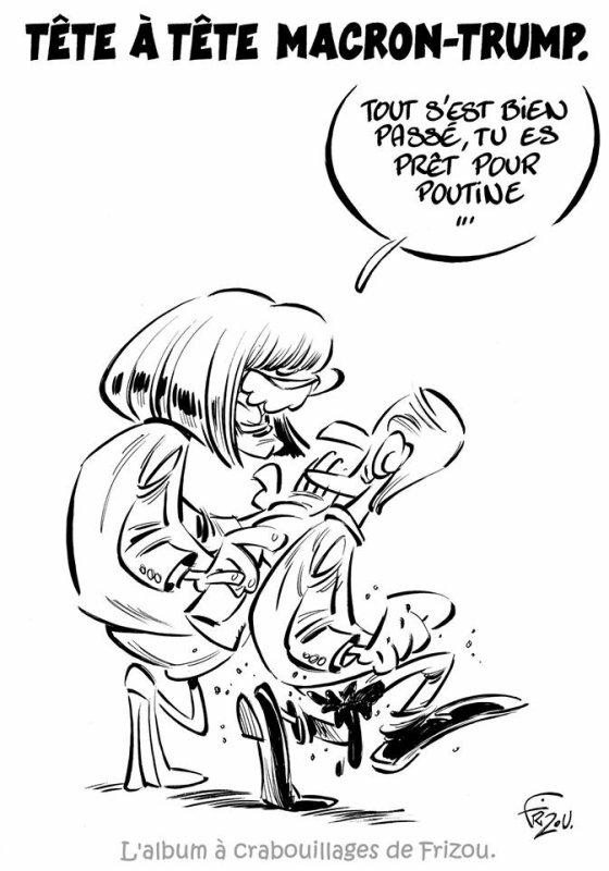 "Spécial ""TÊTE À TÊTE MACRON VS TRUMP..."" - Image n° 2/2 !..."