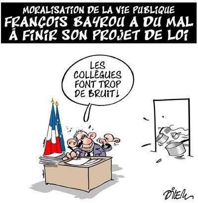 """Spécial """"La loi de moralisation de la vie politique..."""" - Image n° 2/2 !..."""