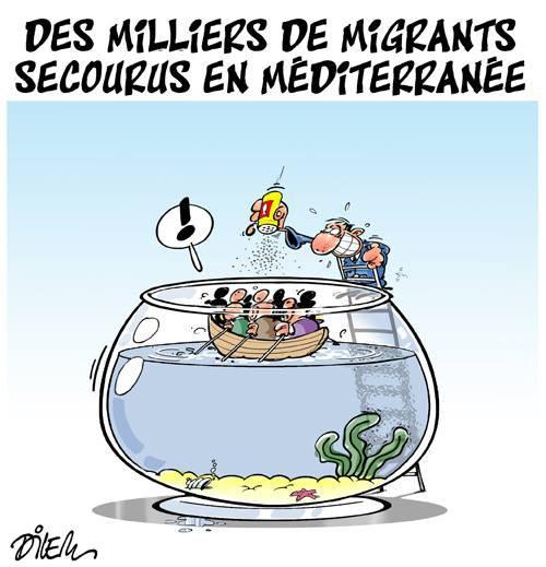 """Spécial """"Naufrages en Méditerranée..."""" - Image n° 2/2 !..."""