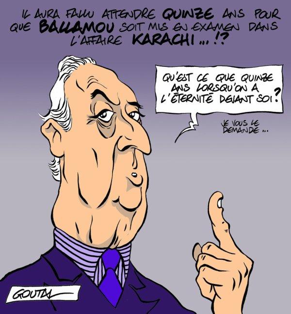 """Spécial """"Edouard Balladur mis en examen dans l'affaire de Karachi..."""" - Image n° 4/4 !..."""