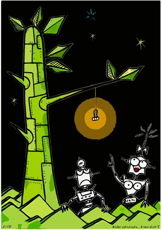 """Spécial """"Les petits noirs d'Erby Kezako - R*B dessine & expose..."""" - Image n° 4/4 !..."""