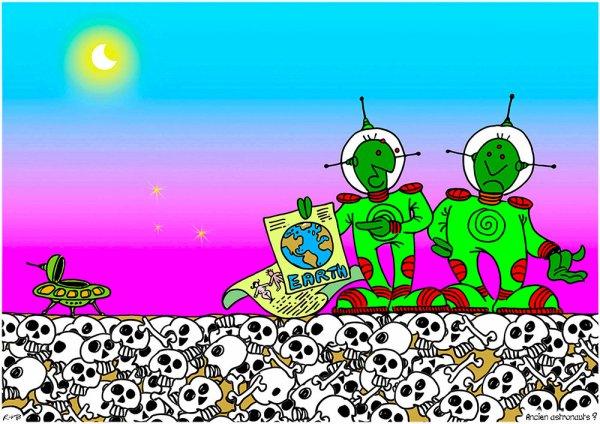 """Spécial """"Les petits noirs d'Erby Kezako - R*B dessine & expose..."""" - Image n° 3/4 !..."""
