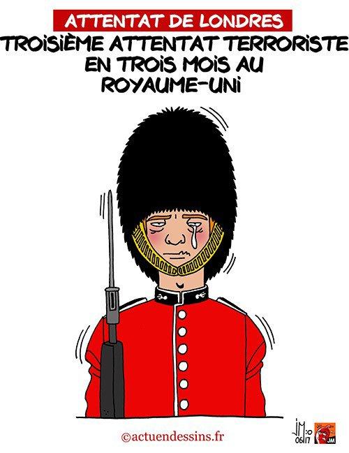 """Spécial """"Attentat terroriste à Londres..."""" - Image n° 2/2 !..."""