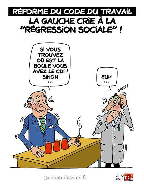 """Spécial """"Réforme du code du travail : le « programme de travail » sera transmis aujourd'hui..."""" - Image n° 2/2 !..."""