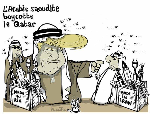 """Spécial """"Accusé de soutenir le terrorisme, le Qatar mis au ban par l'Arabie saoudite et ses alliés..."""" - Image n° 2/2 !..."""