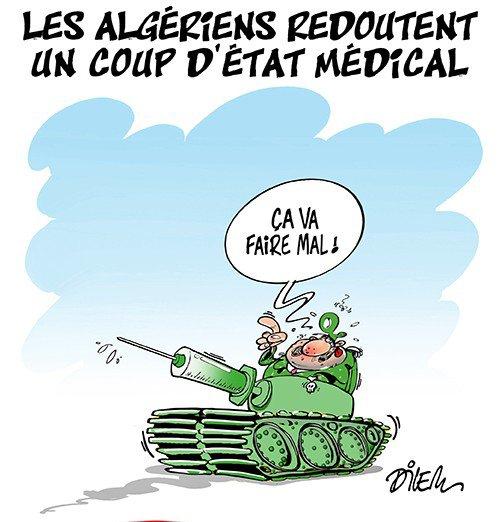 """Spécial """"Algérie - """"Coup d'état médical"""" en vue..."""" - Image n° 2/2 !..."""