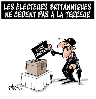 """Spécial """"Les élections législatives chez les Britanniques..."""" - Image n° 2/2 !..."""