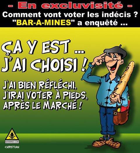 """Spécial """"Pour qui vont voter les indécis..."""" - Image n° 2/2 !..."""