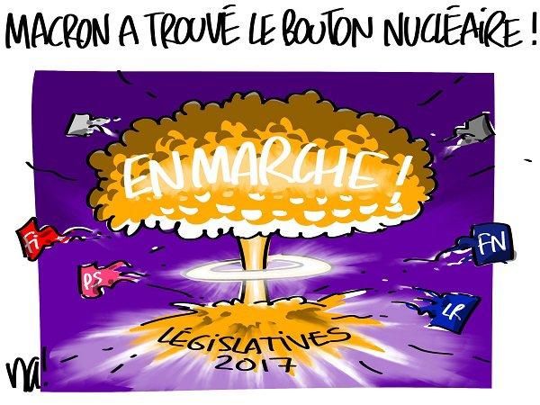 """Spécial """"Résultat du 1er tour des législatives 2017..."""" - Image n° 2/2 !..."""