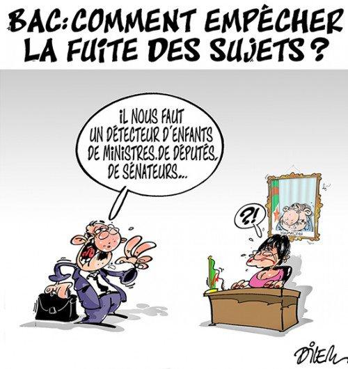 """Spécial """"En Algérie, surveillance renforcée au bac pour empêcher de nouvelles fraudes..."""" - Image n° 2/2 !..."""