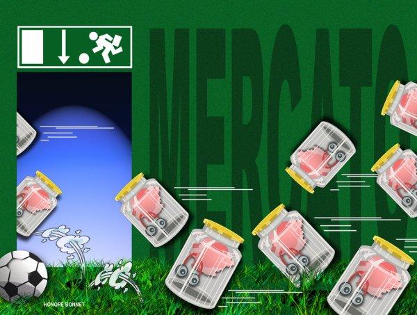 """Spécial """"MERCATO , ou la """"Fuite des cerveaux"""" !..."""" - Image n° 2/2 !..."""