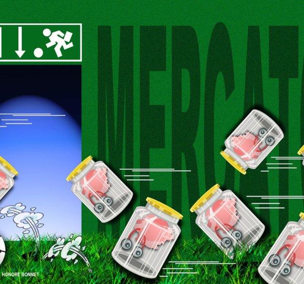 """Spécial """"MERCATO , ou la """"Fuite des cerveaux"""" !..."""" - Image n° 1/2 !..."""