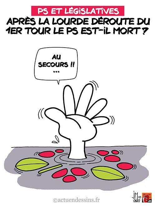 """Spécial """"Lourde défaite au 1er tour des Législatives pour Marine Le Pen... - Image n° 2/2 !..."""