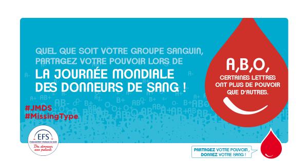 """Spécial """"Journée Mondiale des donneurs de sang, le 14 juin..."""" - Image n° 1/4 !..."""