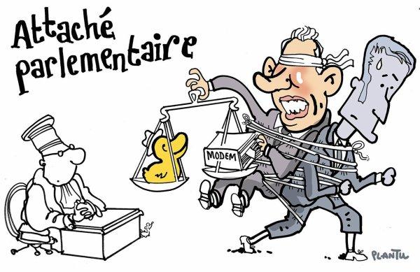 """Spécial """"Assistants parlementaires du MoDem : la secrétaire particulière de M. Bayrou dans le viseur..."""" - Image n° 2/2 !..."""