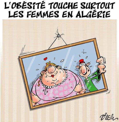 """Spécial """"L'obésité touche plus de 50% de femmes et 36% d'hommes en Algérie..."""" - Image n° 2/2 !..."""