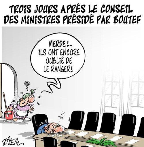 """Spécial """"Conseil des ministres en Algérie, comment ça marche ?..."""" - Image n° 2/2 !..."""