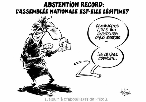 "Spécial ""ABSTENSION en masse & en marche..."" - Image n° 2/2 !..."