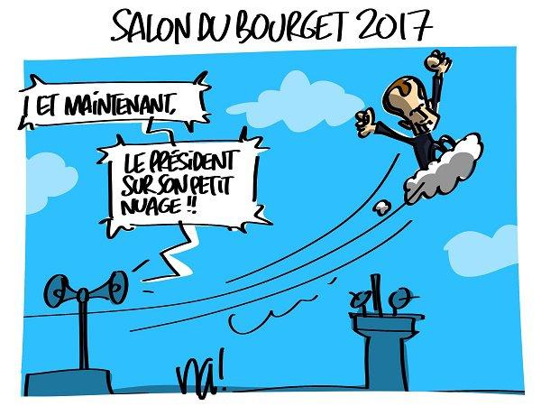 """Spécial """"Macron au salon du Bourget..."""" - Image n° 2/2 !..."""
