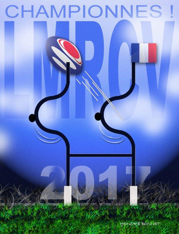 """Spécial """"Rugby féminin , le LMRCV champion !..."""" - Image n° 2/3 !..."""