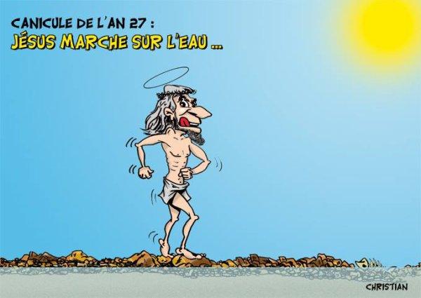 """Spécial """"La canicule, vue par CHRISTIAN dessinateur..."""" - Image n° 04/11 !..."""