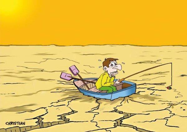 """Spécial """"La canicule, vue par CHRISTIAN dessinateur..."""" - Image n° 03/11 !..."""