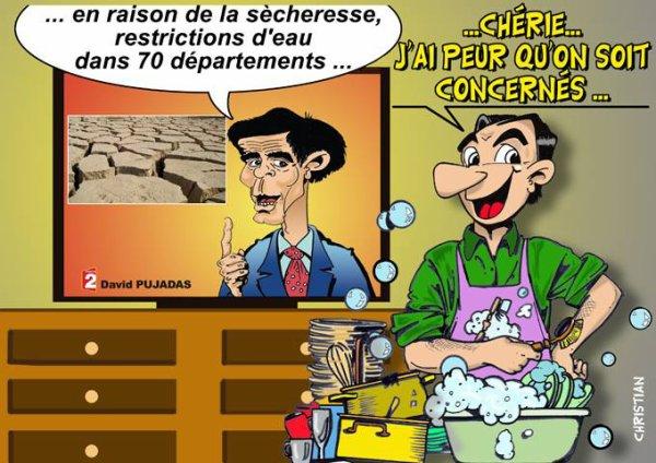 """Spécial """"La canicule, vue par CHRISTIAN dessinateur..."""" - Image n° 02/11 !..."""