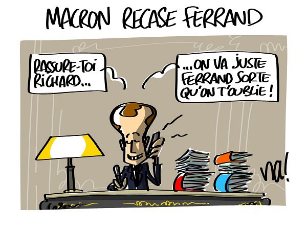 "Spécial ""Macron recase Ferrand..."" - Image n° 2/2 !..."