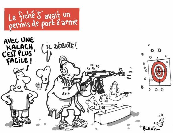 """Spécial """"Un fiché """"S"""", avec un port d'arme..."""" - Image n° 2/2 !..."""