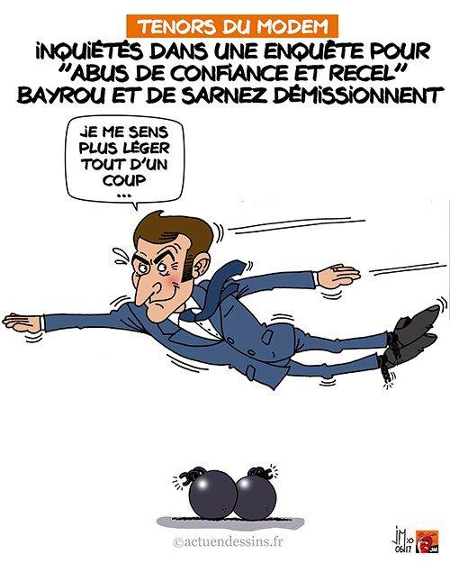 """Spécial """"Bayrou et De Sarnez démissionnent !..."""" - Image n° 2/2 !..."""