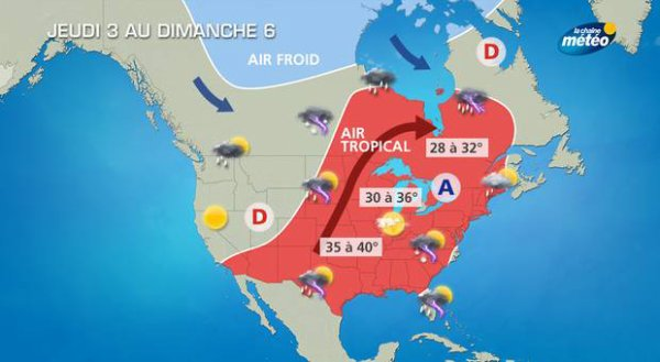 """Spécial """"Vague de chaleur record aux USA..."""" - Image n° 1/2 !..."""