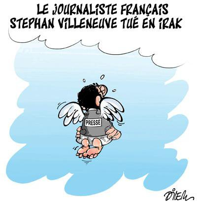 "Spécial ""Mort du journaliste Stephan VILLENEUVE..."" - Image n° 2/2 !..."