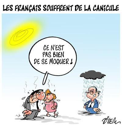 """Spécial """"LES FRANÇAIS SOUFFRENT DE LA CANICULE..."""" - Image n° 2/2 !..."""