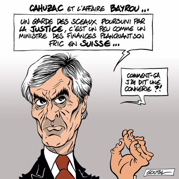 """Spécial """"CAHUZAC et l'affaire BAYROU..."""" - Image n° 2/2 !..."""