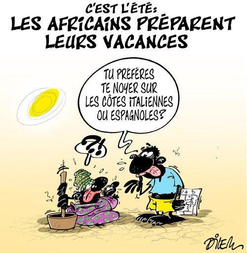 """Spécial """"Les Africains préparent leurs vacances..."""" - Image n° 2/2 !..."""