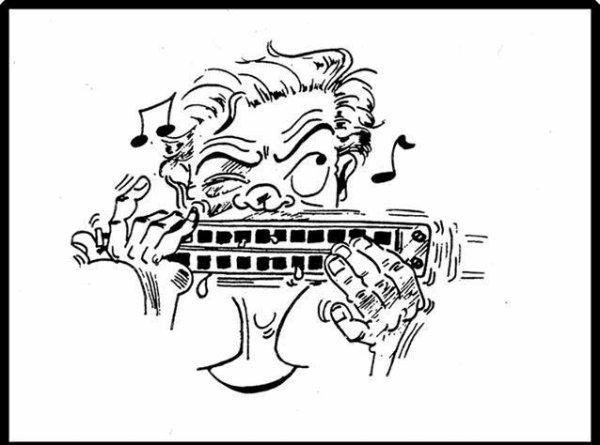 """Spécial """"La fête de la musique vue par CHRISTIAN dessinateur..."""" - Dessin n° 3/5 !..."""