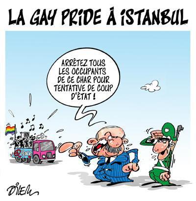 """Spécial """"Turquie. La Gay Pride d'Istanbul interdite et dispersée par la police..."""" - Image n° 2/2 !..."""
