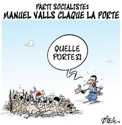 """Spécial """"Trop c'est trop ! Manuel Valls claque la porte du PS..."""" - Image n° 2/2 !..."""