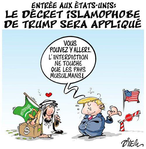 "Spécial ""Le décret islamophobe de Trump sera appliqué..."" - Image n° 2/2 !..."