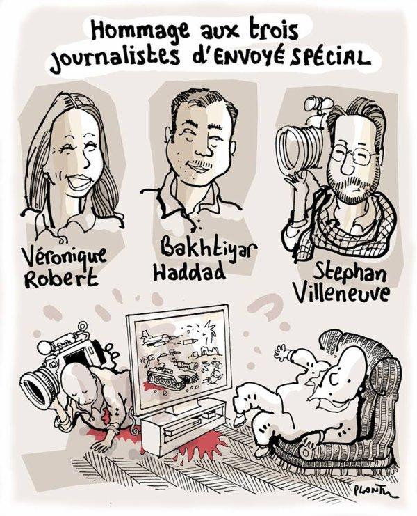 """Spécial """"Hommage aux trois journalistes D'ENVOYÉ SPÉCIAL..."""" - Image n° 2/2 !..."""