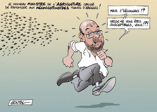 """Spécial """"Stéphane Travert, ministre éclairé de l'agriculture intensive..."""" - Image n° 2/2 !..."""