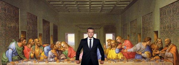 """Spécial """"Jésus et Macron avec leurs """"apôtres""""..."""" - Image n° 2/2 !..."""