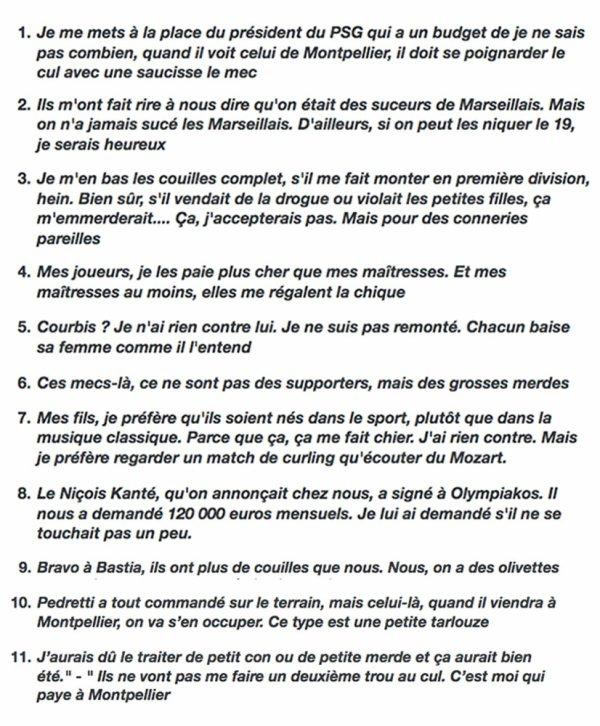 """Spécial """"Les petits noirs d'Erby Kezako - Hommage à Louis NICOLLIN..."""" - Image n° 3/3 !..."""