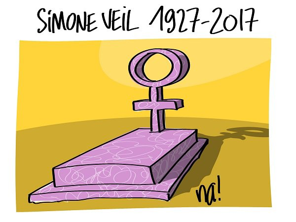 """Spécial """"SIMONE VEIL EST DÉCÉDÉE..."""" - Image n° 2/2 !..."""
