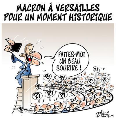 """Spécial MACRON À VERSAILLES..."""" - Image n° 2/2 !..."""