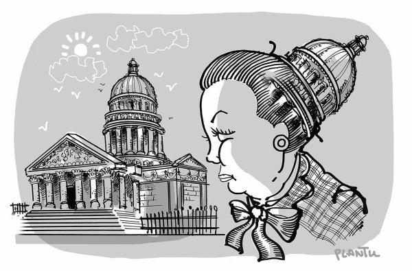 """Spécial """"Simone Veil au Panthéon ?..."""" - Image n° 2/2 !..."""