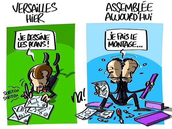 """Spécial """"Le discours d'Edouard Philippe, premier ministre..."""" - Image n° 2/2 !..."""