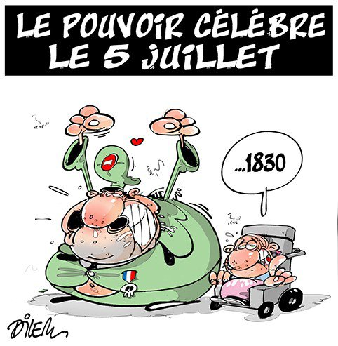 """Spécial """"Fête nationale : Les Algériens célèbrent le 5 juillet..."""" - Image n° 2/2 !..."""