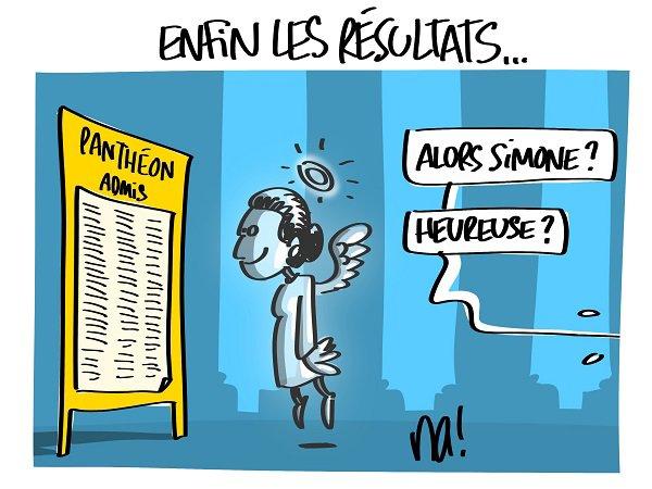 """Spécial """"Simone Veil, Panthéon et baccalauréat..."""" - Image n° 4/4 !..."""