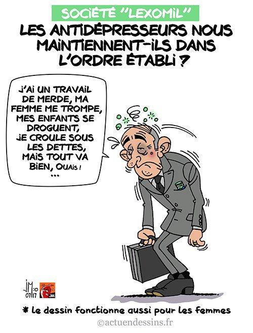 """Spécial """"Notre société sous dépression ?..."""" - Image n° 2/2 !..."""